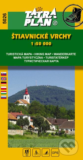Štiavnické vrchy 1:50 000 -