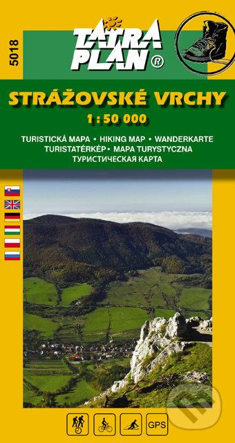 Strážovské vrchy 1:50 000 -