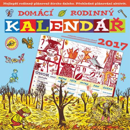 Domácí rodinný kalendář 2017 - Petra Cífková