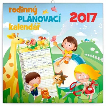 Kalendář 2017 - Rodinný plánovací -