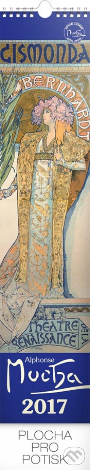 Kalendář nástěnný 2017 - Alfons Mucha -