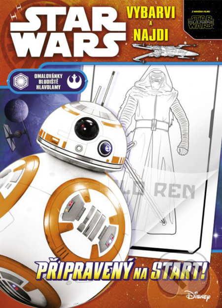 Star Wars: vybarvi a najdi -