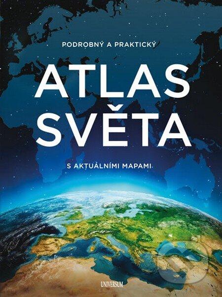 Podrobný a praktický atlas světa s aktuálními mapami -
