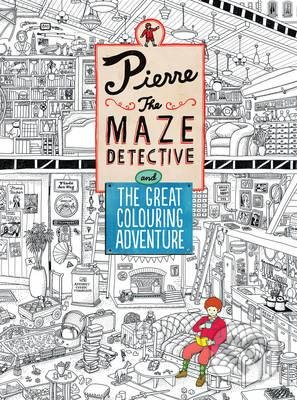 Pierre the Maze Detective and the Great Colouring Adventure - Hiro Kamigaki
