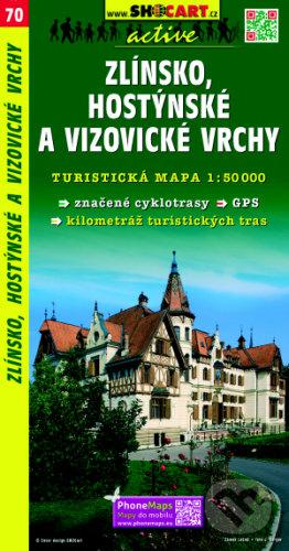 Zlínsko, Hostýnske a Vizovické vrchy 1:50 000 -