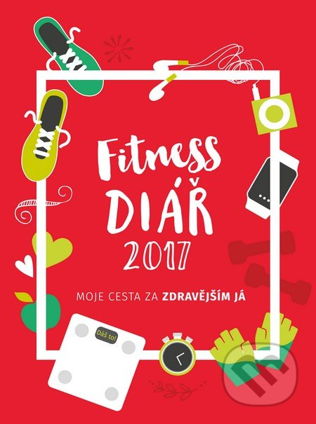 Fitness diář 2017 (český jazyk) -