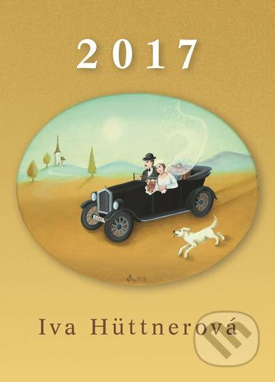 Iva Hüttnerová - Nástěnný kalendář 2017 - Iva Hüttnerová