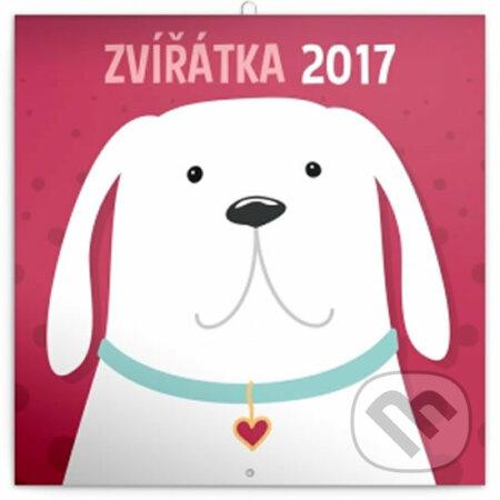 Kalendář plánovací 2017 - Zvířátka -