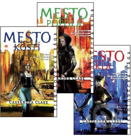 Nástroje smrteľníkov I. (komplet prvých troch dielov v brožovanej väzbe) - Cassandra Clare