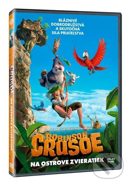 Robinson Crusoe: Na ostrove zvieratiek DVD