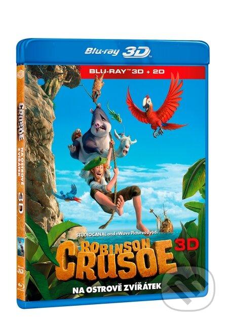 Robinson Crusoe: Na ostrově zvířátek 3D BLU-RAY