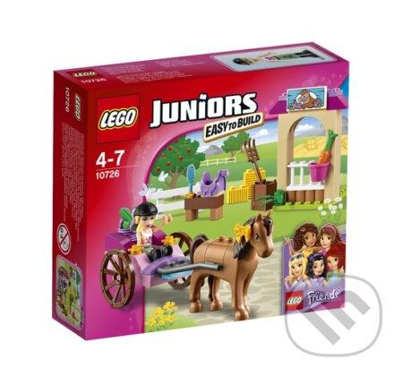 LEGO Juniors 10726 Stephanie a kočiar s koníkom -