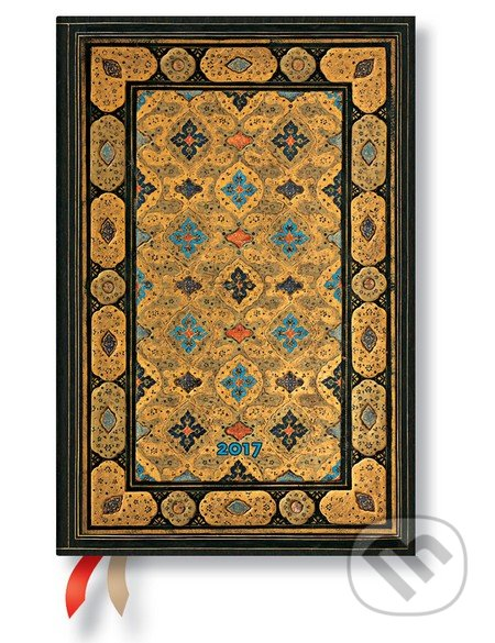 Paperblanks - diár Shiraz 2017 -