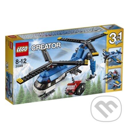LEGO Creator 31049 Vrtuľník s dvomi vrtuľami -