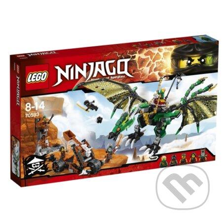 LEGO Ninjago 70593 Zelený drak NRG -
