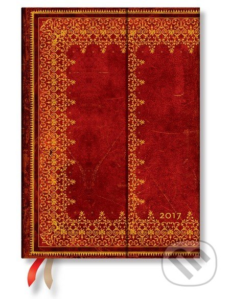 Paperblanks - diár Foiled 2017 -