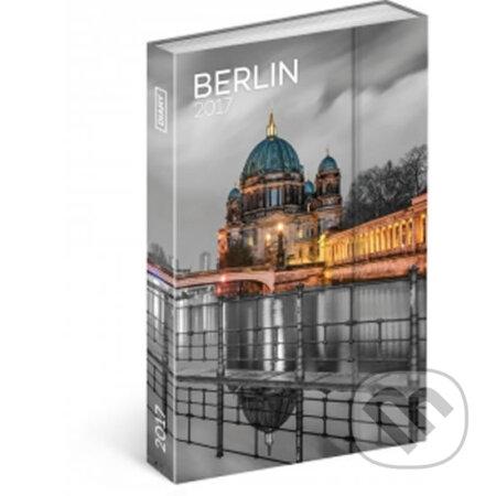 Diář 2017 - Berlín - týdenní -