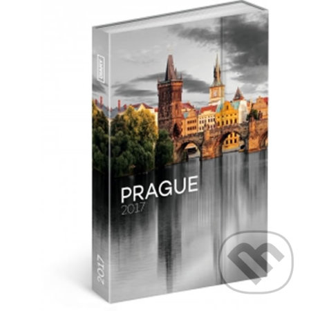 Diář 2017 - Praha - týdenní -