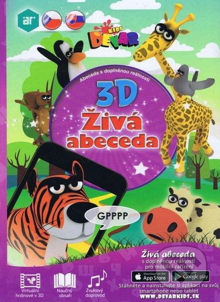 3D Živá abeceda -