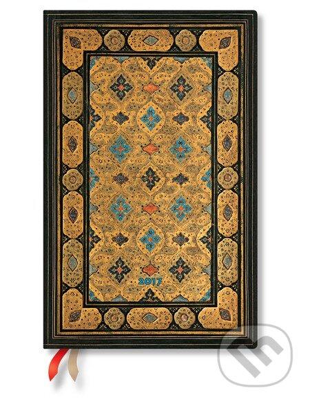 Paperblanks - diár Shiraz 2017 -