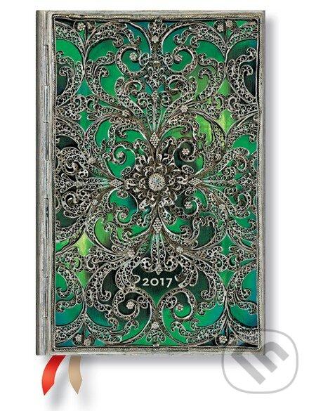 Paperblanks - diár Esmeralda 2017 -