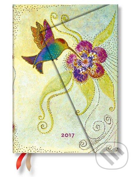 Paperblanks - diár Hummingbird 2017 -