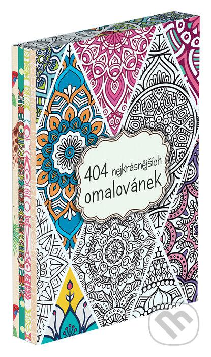404 nejkrásnějších omalovánek (BOX) -
