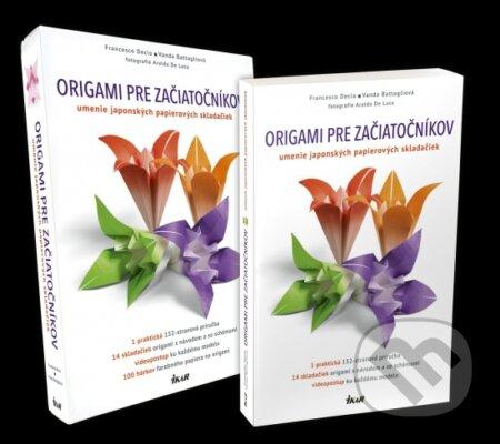 Origami pre začiatočníkov (set) - Francesco Decio, Vanda Battaglia
