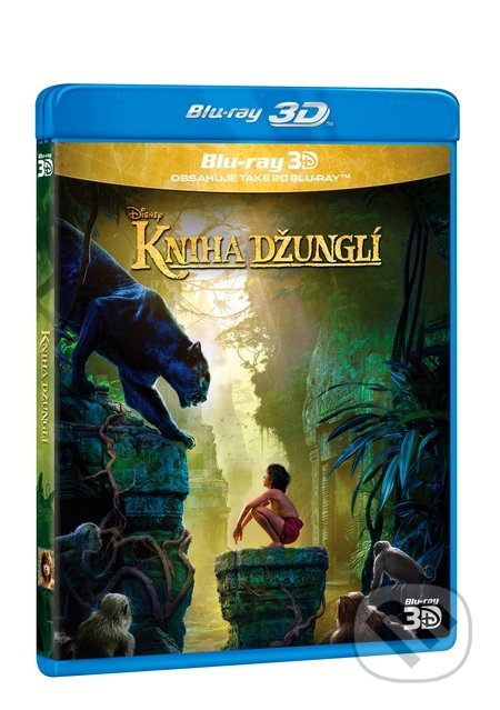 Kniha džunglí 3D BLU-RAY3D