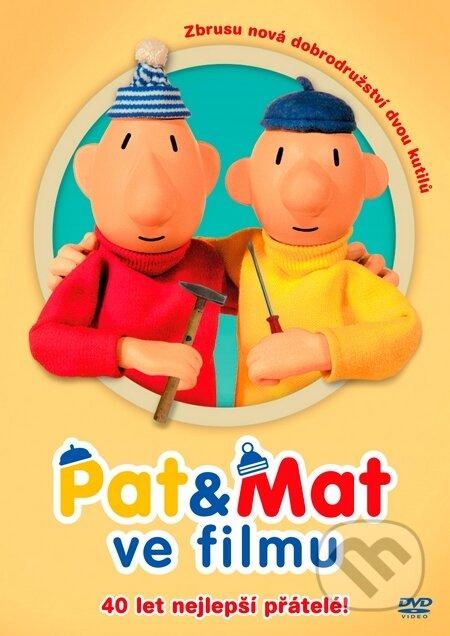 Pat a Mat ve filmu DVD