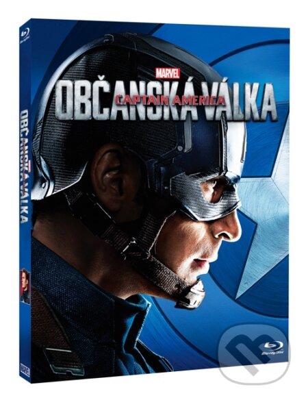 Captain America: Občanská válka - Captain America edícia BLU-RAY