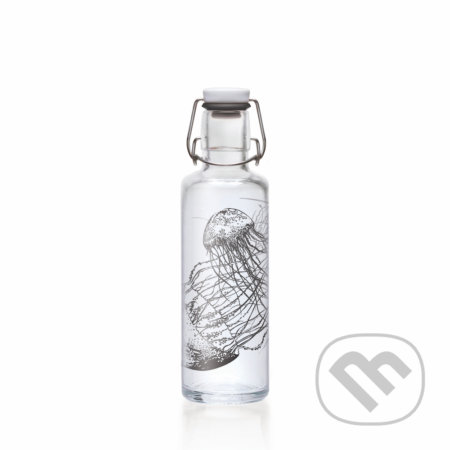 Soulbottle jellyfish in the bottle -
