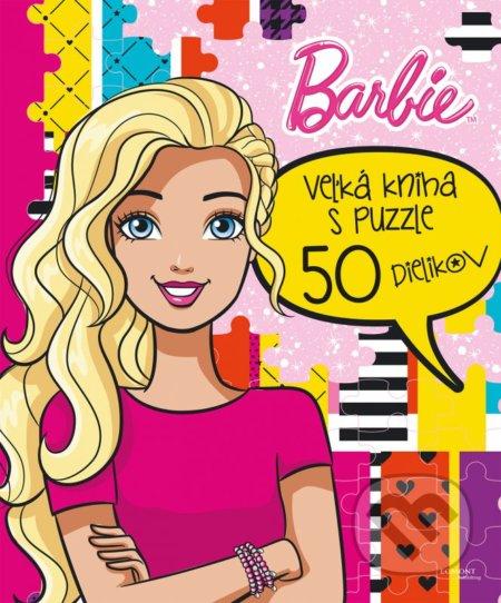 Barbie: Veľká kniha s puzzle -