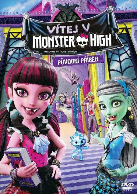 Vítej v Monster High DVD