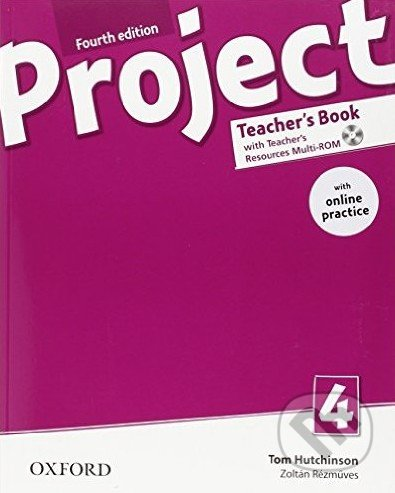 Project 4 - Teacher\'s Book + Online - Tom Hutchinson