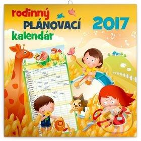 Rodinný plánovací kalendár 2017 -