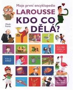 Moje první encyklopedie Larousse: Kdo co dělá? - Isabelle Fougér