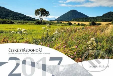 Kalendář 2017 - České středohoří - nástěnný - Ludmila Hájková