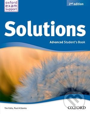 Solutions - Advanced - Student\'s Book - Tim Falla, Paul A. Davies