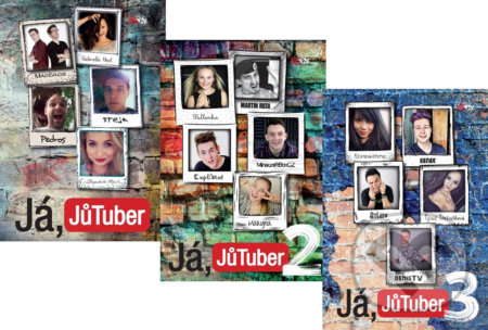 Já, JůTuber + Já, JůTuber 2 + Já, JůTuber 3 (kolekce) -
