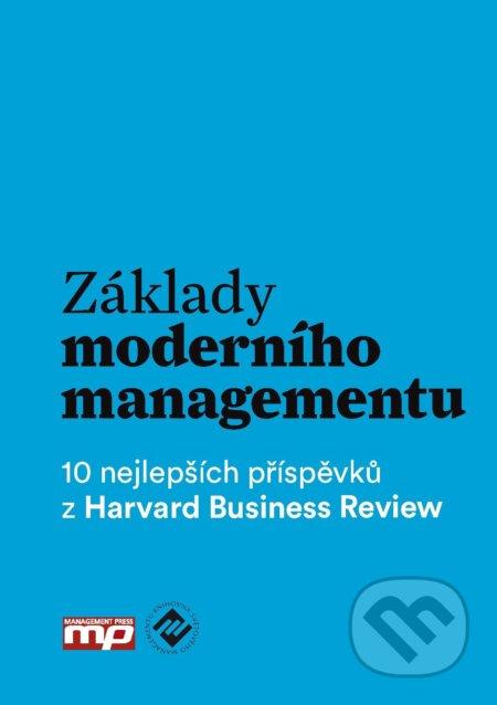Základy moderního managementu -
