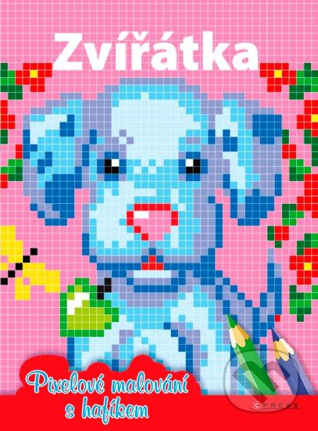 Zvířátka: Pixelové malování s hafíkem -