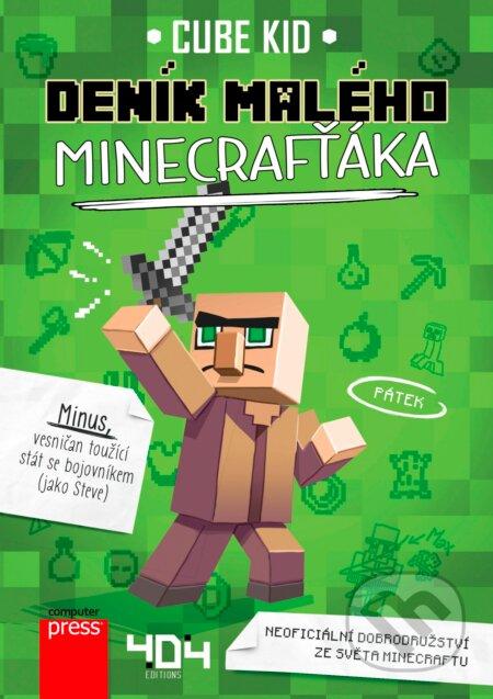 Deník malého Minecrafťáka - Cube Kid