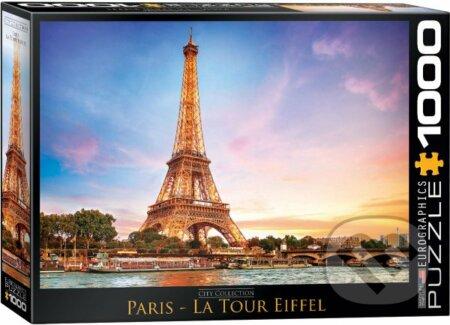 Paříž - Eiffelova věž -