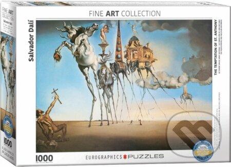 Pokušení sv. Antonína - Salvador Dalí