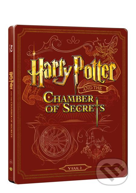 Harry Potter a tajemná komnata Steelbook STEELBOOK