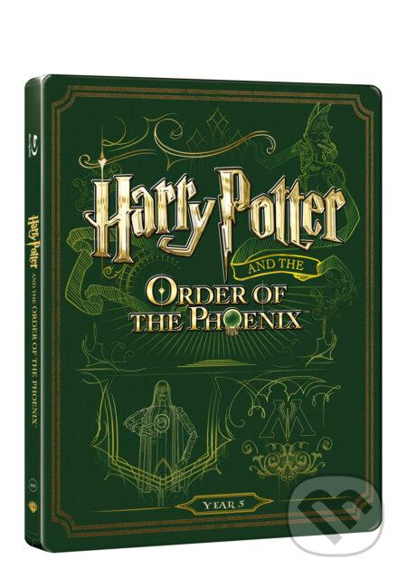 Harry Potter a Fénixův řád Steelbook STEELBOOK