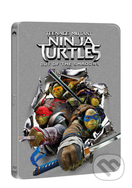 Želvy Ninja 2. Steelbook STEELBOOK