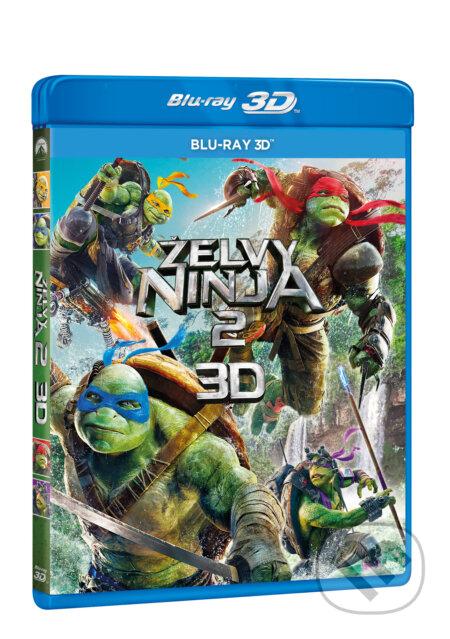 Želvy Ninja 2. 3D BLU-RAY3D