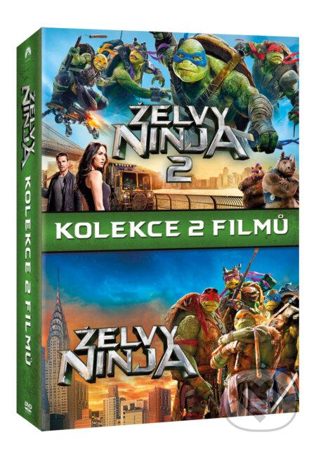 Želvy Ninja kolekce 1-2. DVD